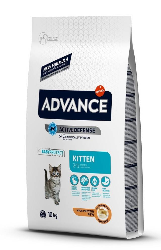 Advance Affinity Advance Chat Kitten Poulet et Riz