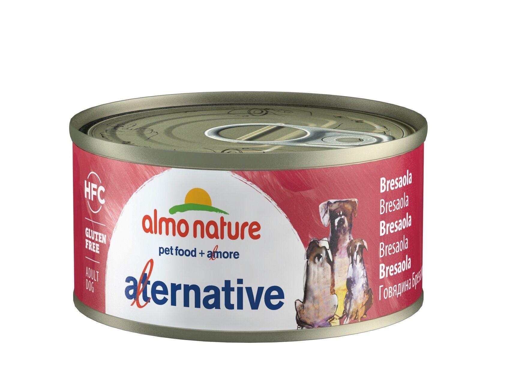 Almo Nature Chien Alternative Bresaola - Boîte