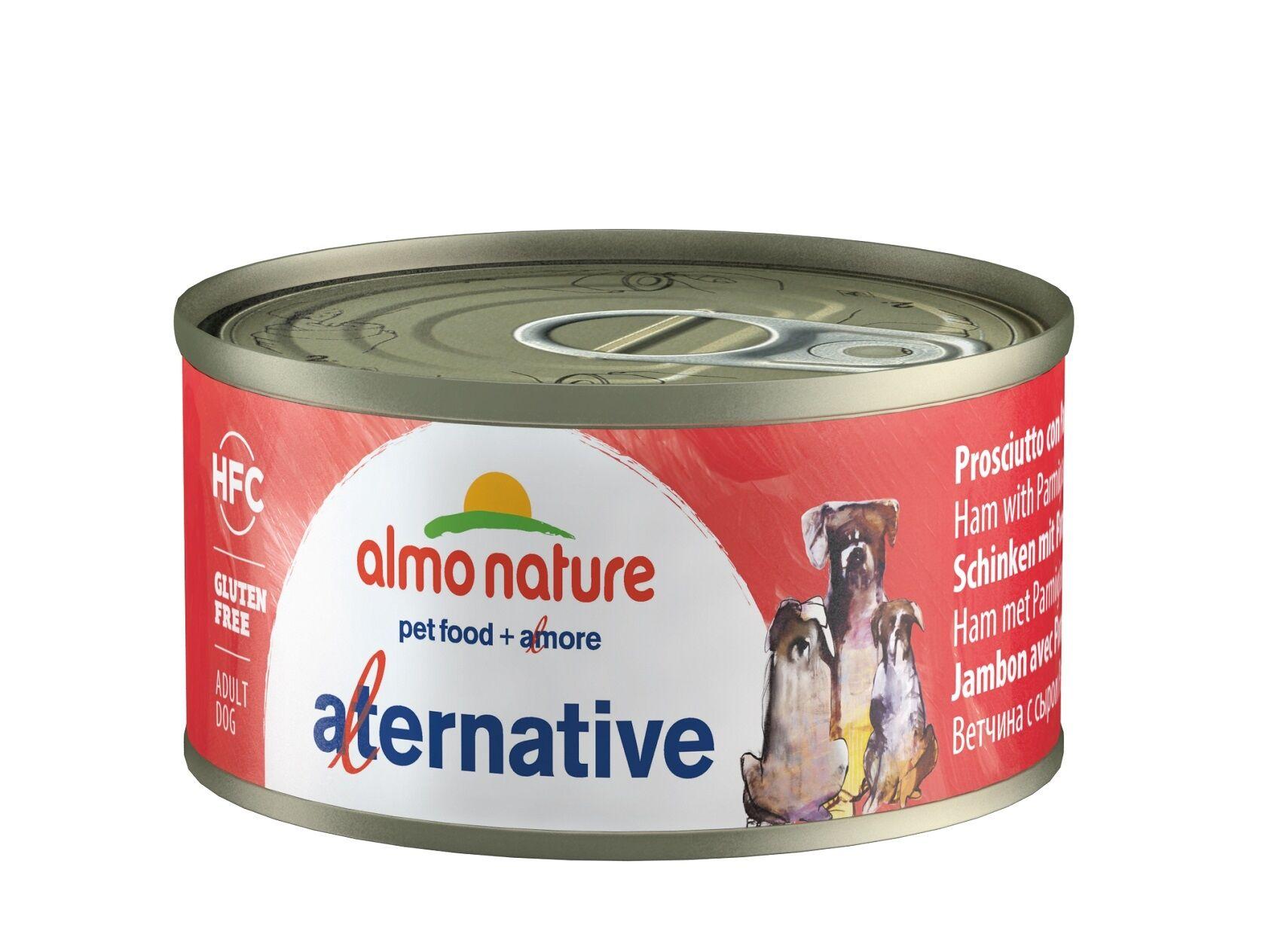 Almo Nature Chien Alternative Jambon Parmesan – Boîte