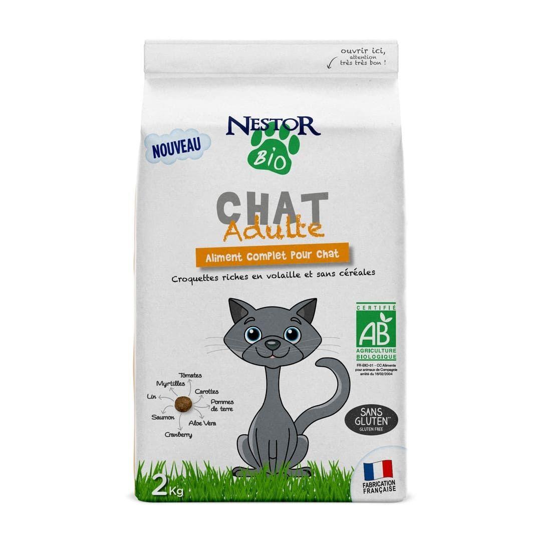 Nestor Bio Chat Adulte Sans Céréales & Sans Gluten Volaille
