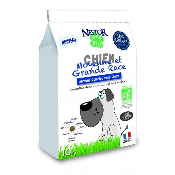Nestor Bio Chien Adulte Moyenne et Grande Race Sans Céréales & Sans Gluten