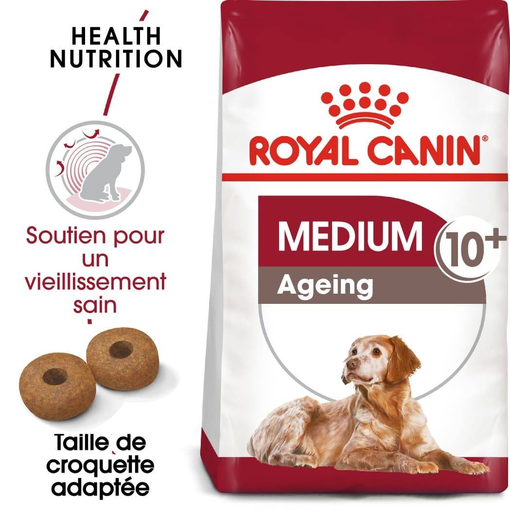 Royal Canin Chien Medium Ageing +10