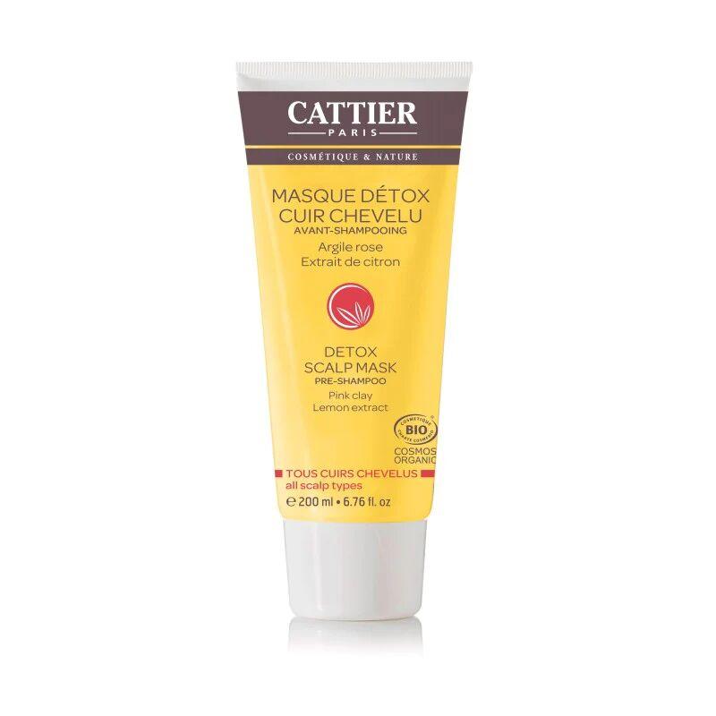Cattier Masque Detox Cheveux Argile Rose