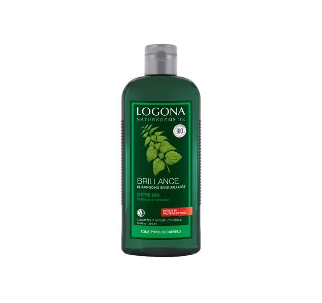 Logona Shampooing brillance à l'ortie 500ml