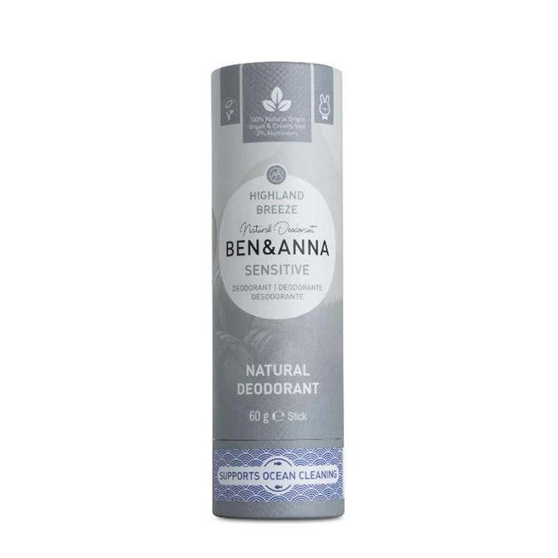 Déodorant Sensitive highland breeze - Papertube