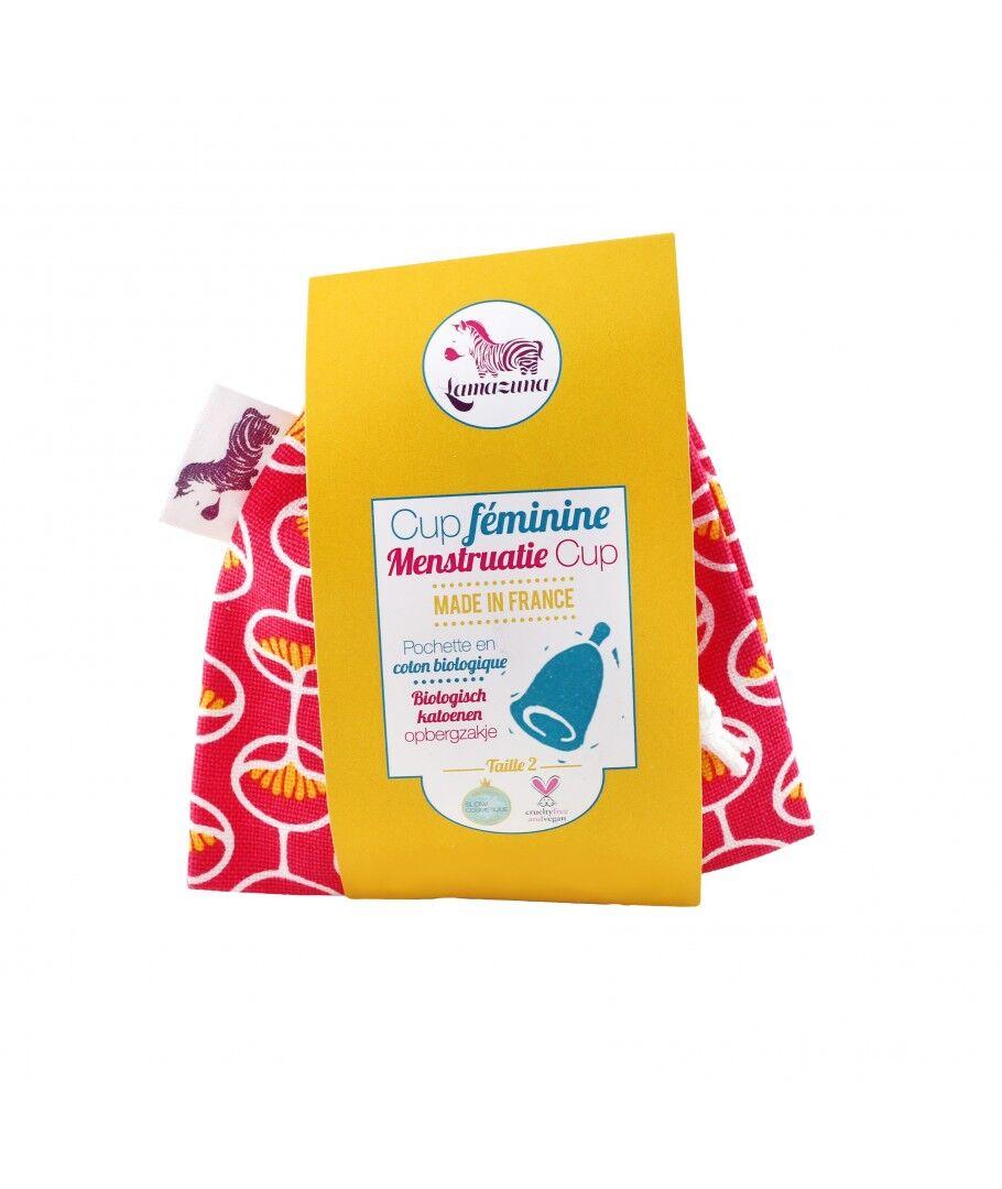 Lamazuna Cup menstruelle Rose