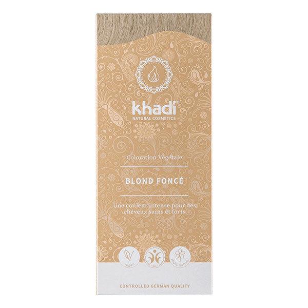 Khadi Soins Colorants Teinture aux plantes Blond foncé