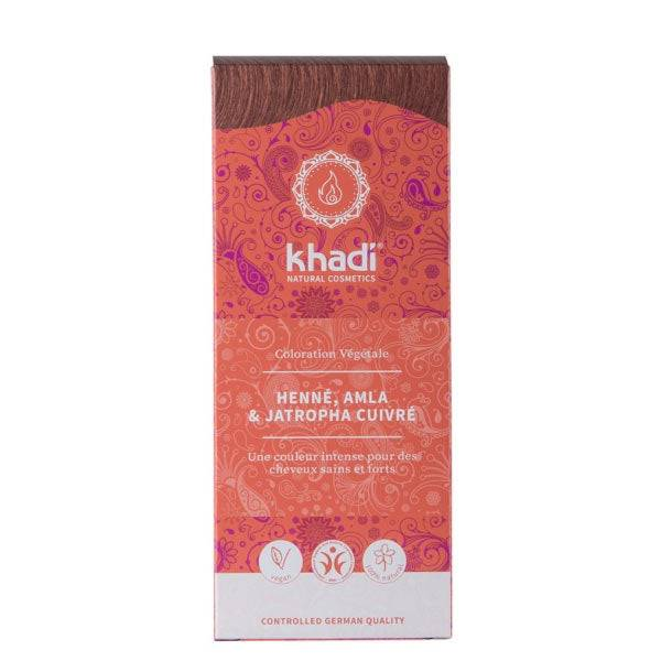 Khadi Coloration végétale Henné, amla et jatropha