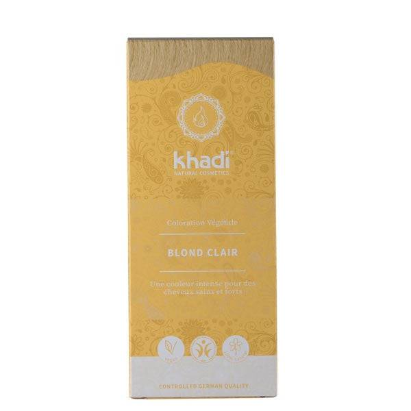 Khadi Soins Colorants Teinture aux plantes Blond clair