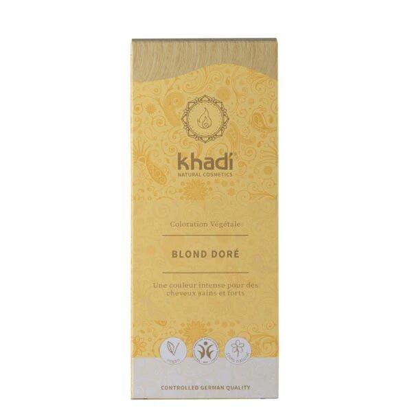 Khadi Soins Colorants Teinture aux plantes Blond doré