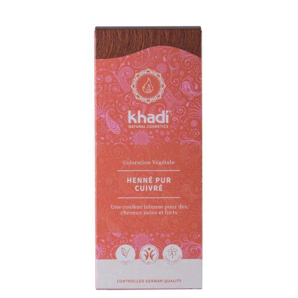 Khadi Teinture aux plantes Henné pur rouge