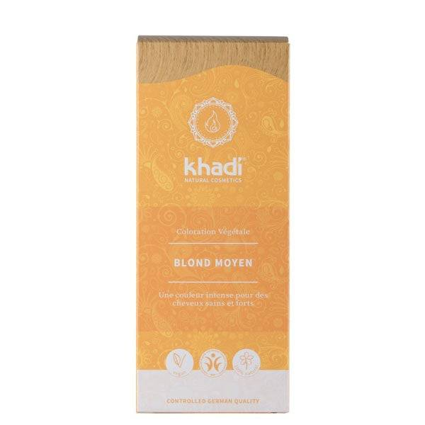 Khadi Soins Colorants Teinture aux plantes Blond moyen