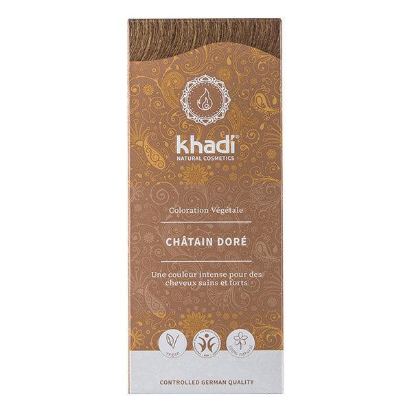 Khadi Soins Colorants Teinture aux plantes Châtain doré