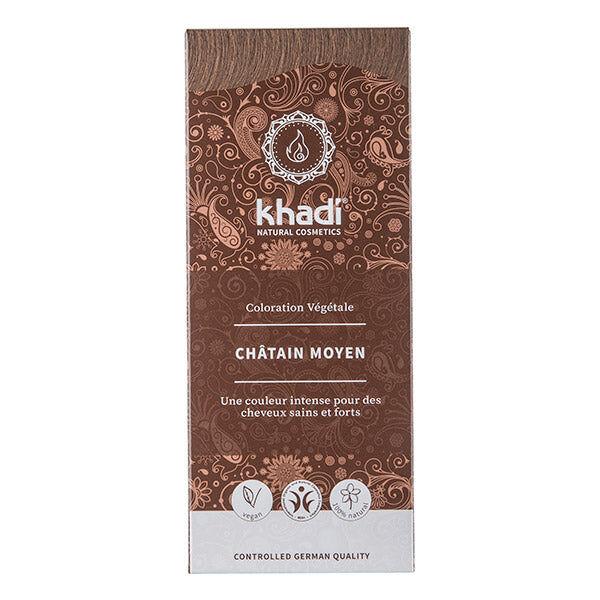 Khadi Soins Colorants Teinture aux plantes Châtain moyen