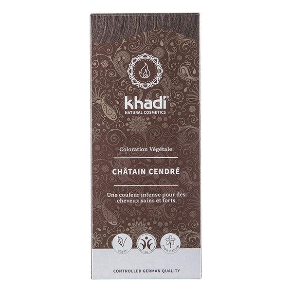 Khadi Soins Colorants Teinture aux plantes Châtain cendré