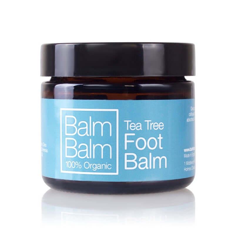 Balm balm Baume pieds tea tree
