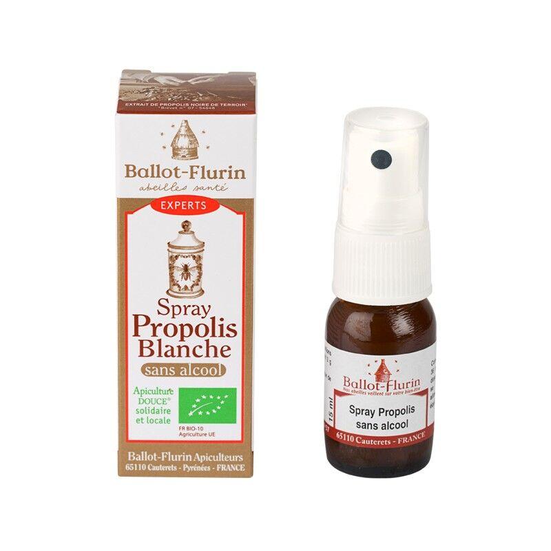 Ballot-flurin Spray Propolis blanche sans alcool