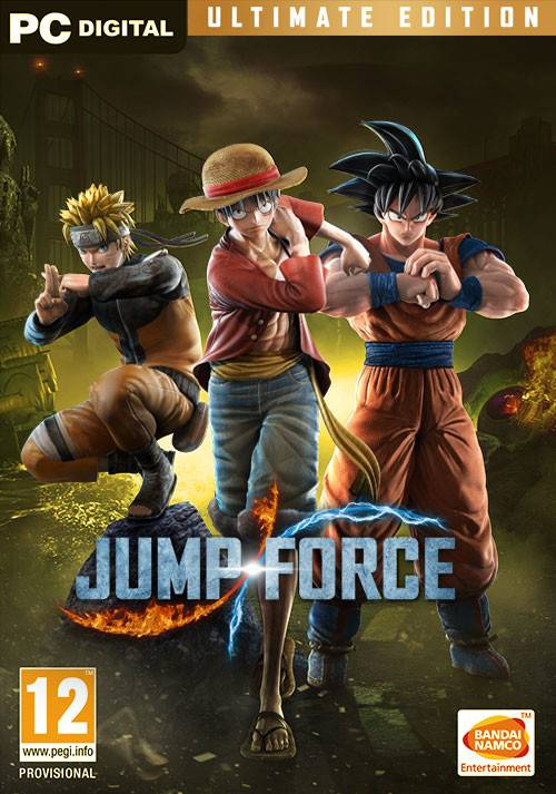 BANDAI NAMCO Entertainment Jeu PC JUMP FORCE - Ultimate Edition