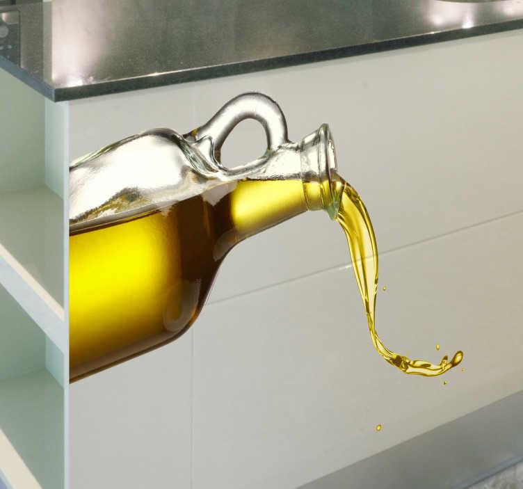TenStickers - Stickers Sticker cuisine huile d'olive
