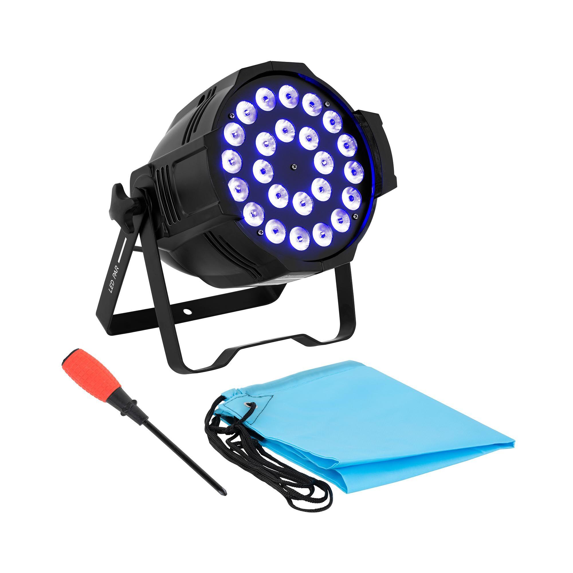 Singercon Projecteur PAR - 24 LED - 250 W CON.LP-24/10/RGBWA
