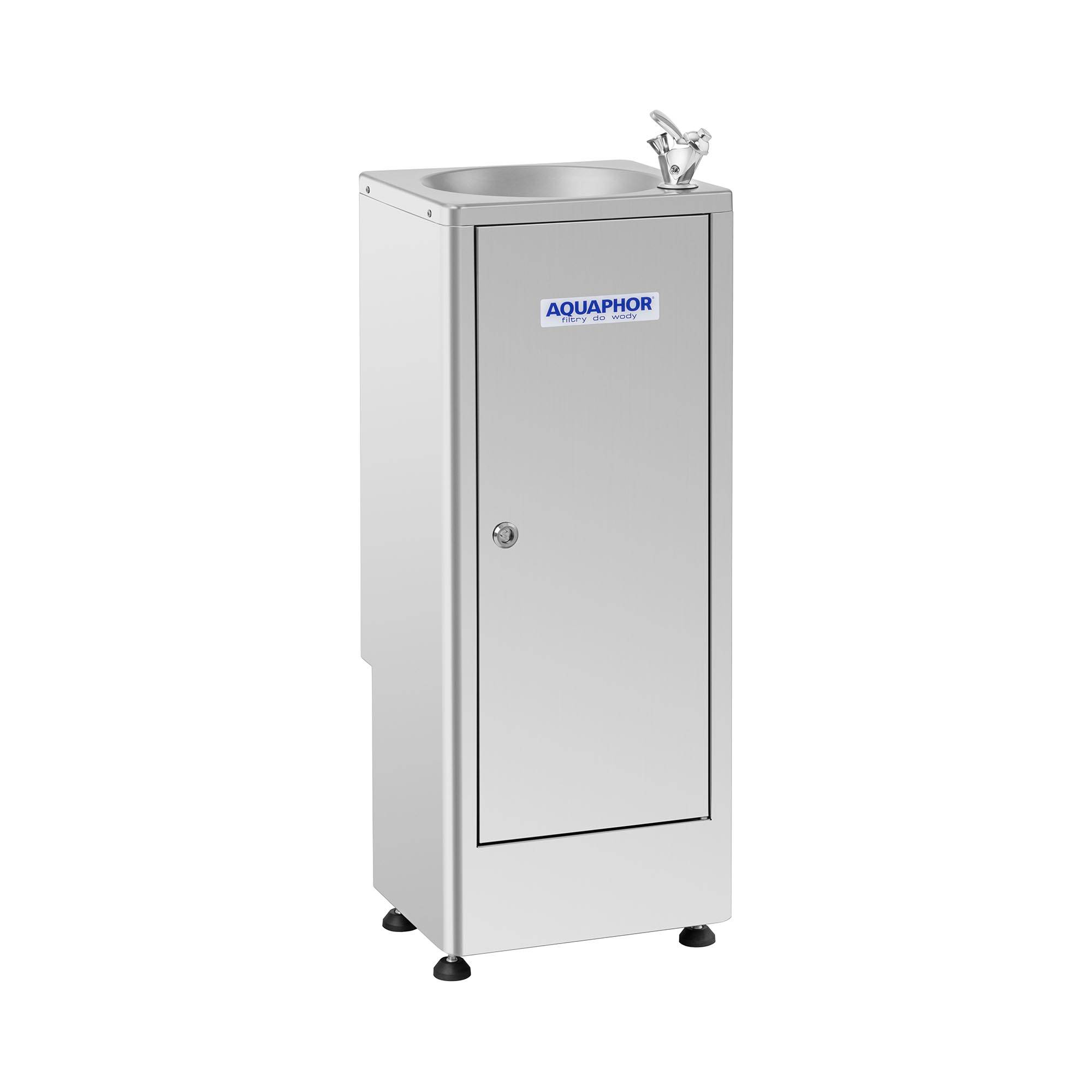 Aquaphor Fontaine à eau Aquaphor - Inox - Avec système de filtration à charbon actif FOUNTAIN WATER DISTRIBUTOR