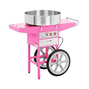 Royal Catering Machine à barbe à papa avec chariot - 52cm RCZC-1200-W - Publicité