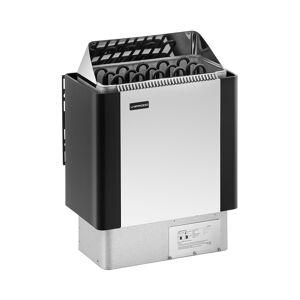 Uniprodo Poêle pour sauna - 8 kW - 30 à 110 °C - Enveloppe en inox UNI_SAUNA_BS8.0KW - Publicité