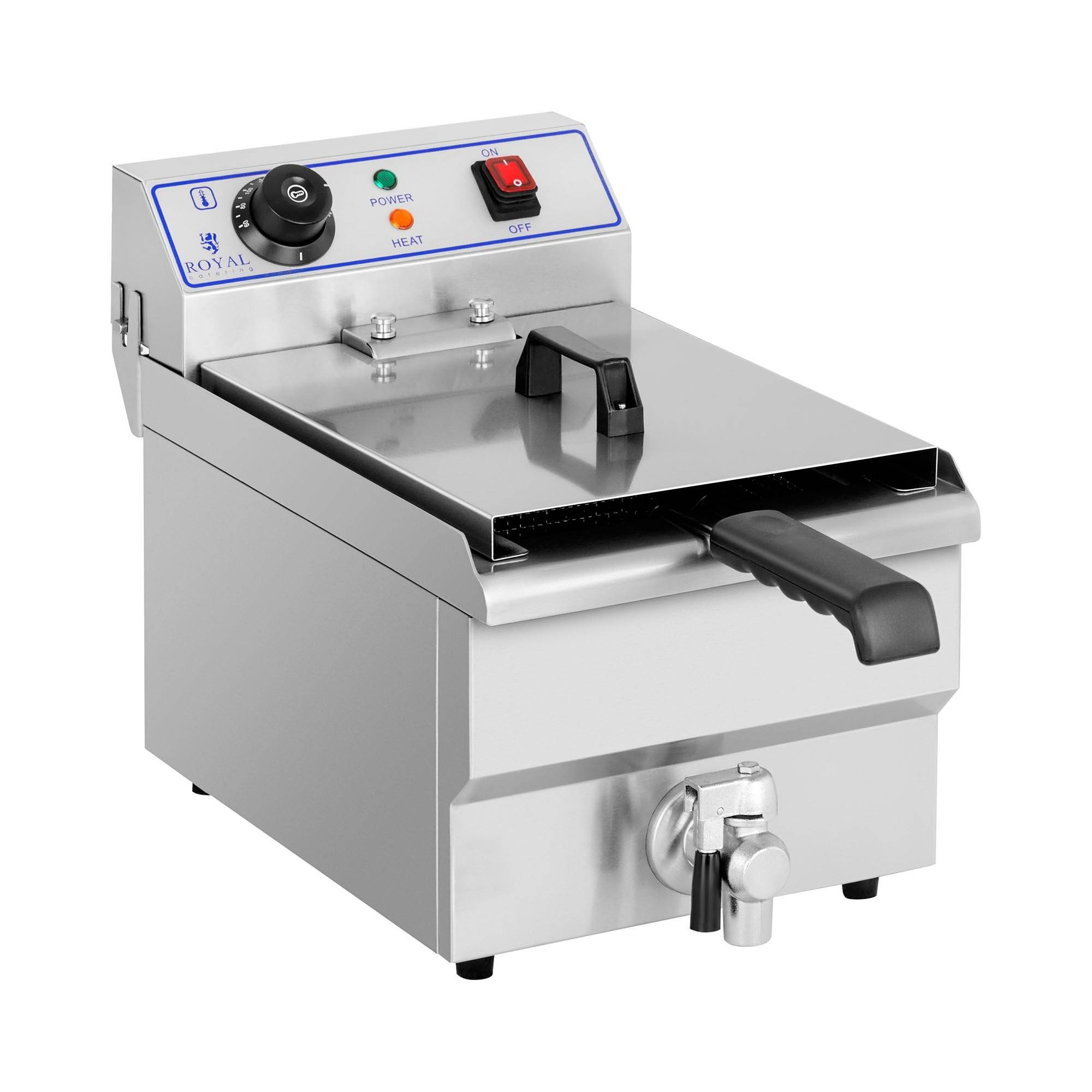 Royal Catering Friteuse - 1 x 10 litres RCEF 10EH