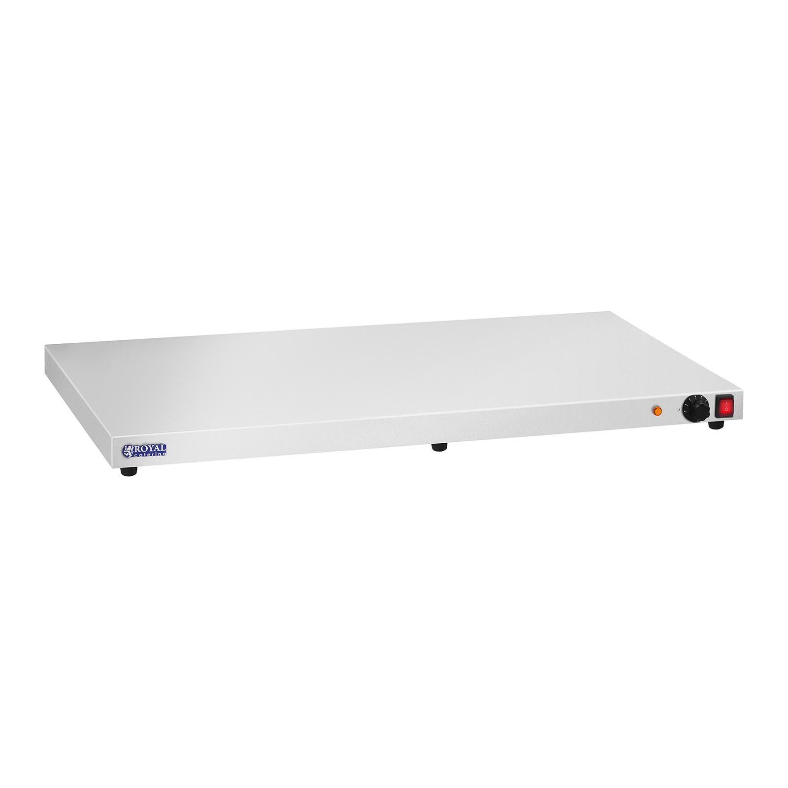 Royal Catering Chauffe-plats en inox - 600 watts - Acier inoxydable - 100 cm RCHP-600E