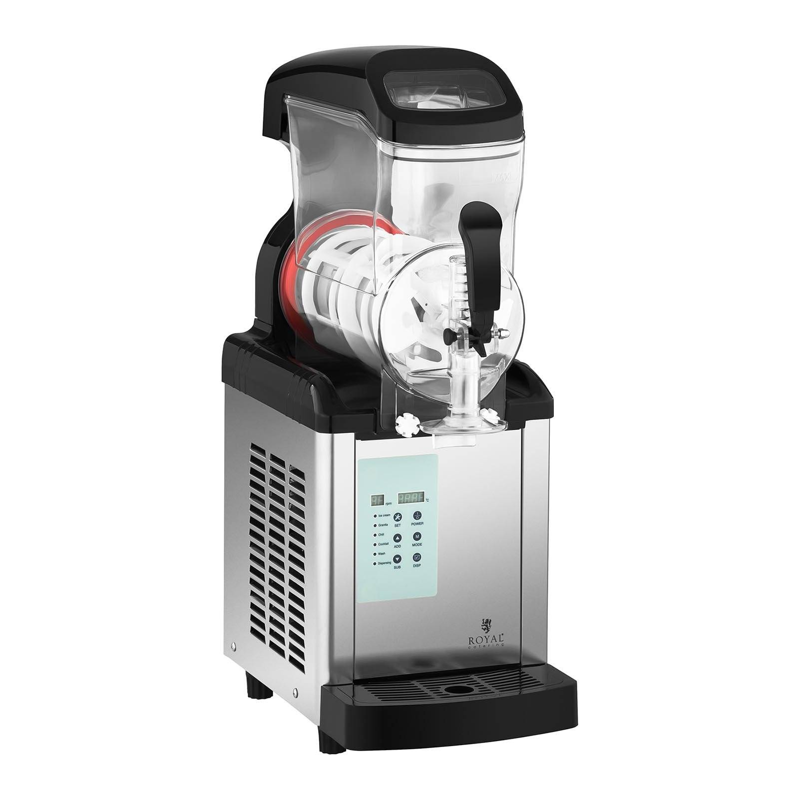 Royal Catering Machine à granitas - 6 litres RCSL 1/6ICE