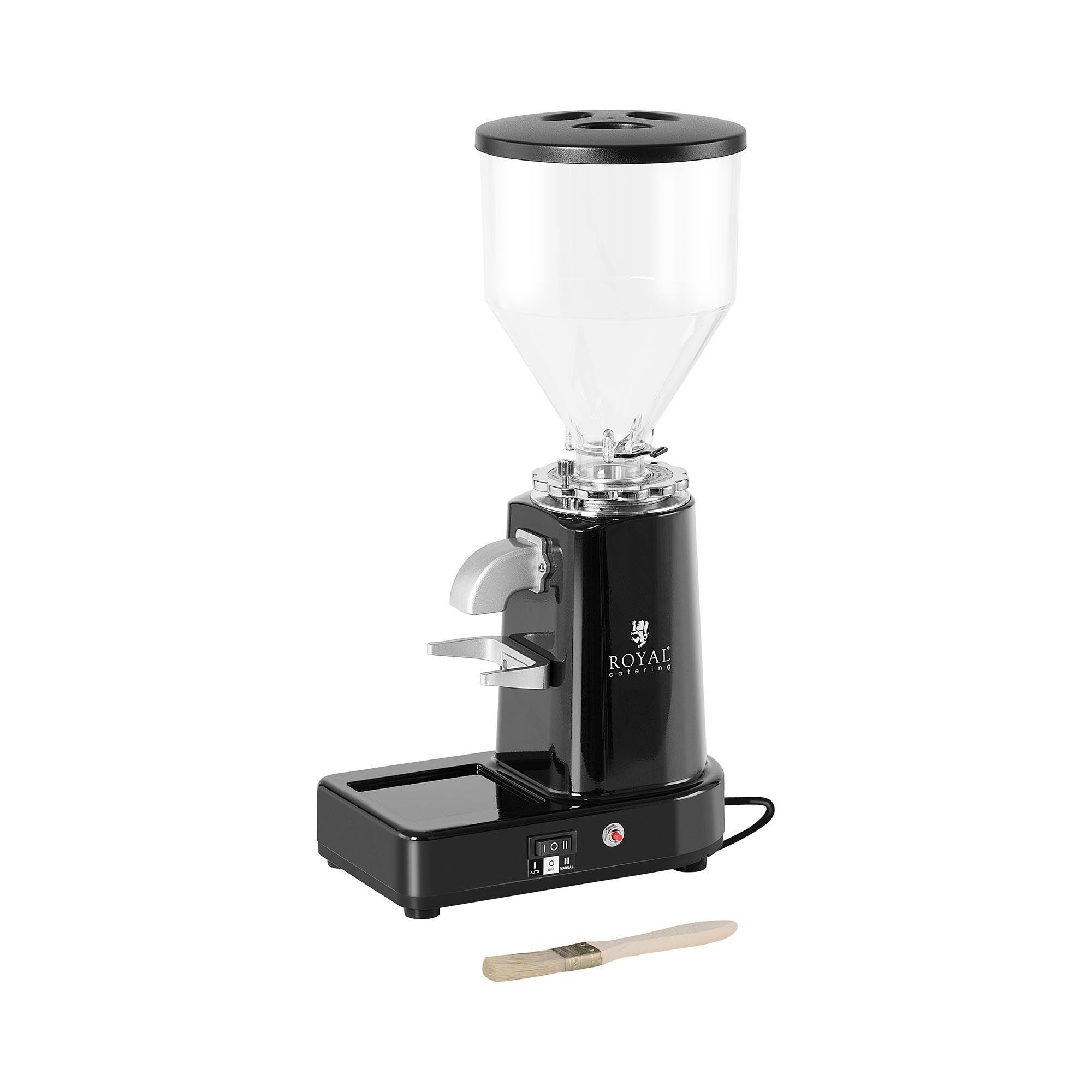 Royal Catering Moulin à café électrique - 200 W - 1000 ml - Plastique - Noir RC-CGM19
