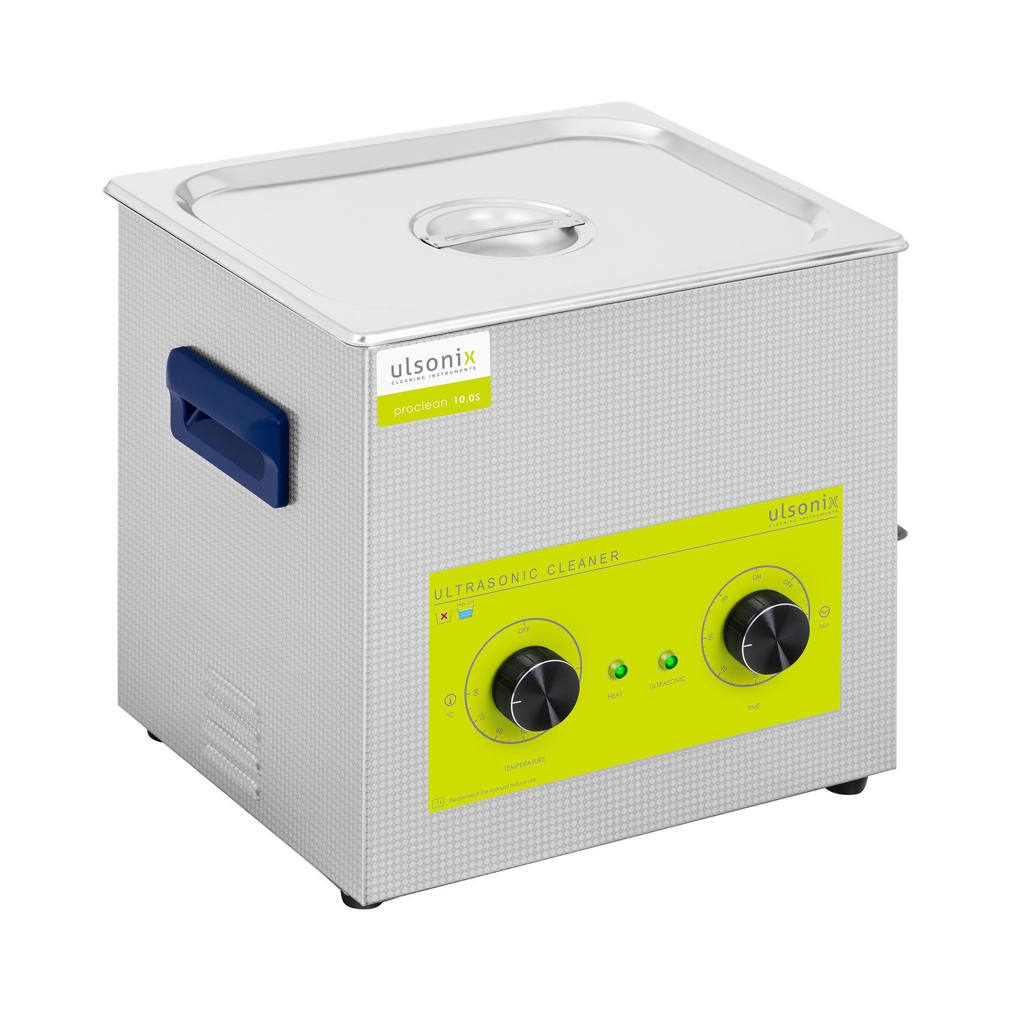 ulsonix Nettoyeur à ultrasons - 10 litres - 240 watts PROCLEAN 10.0MS