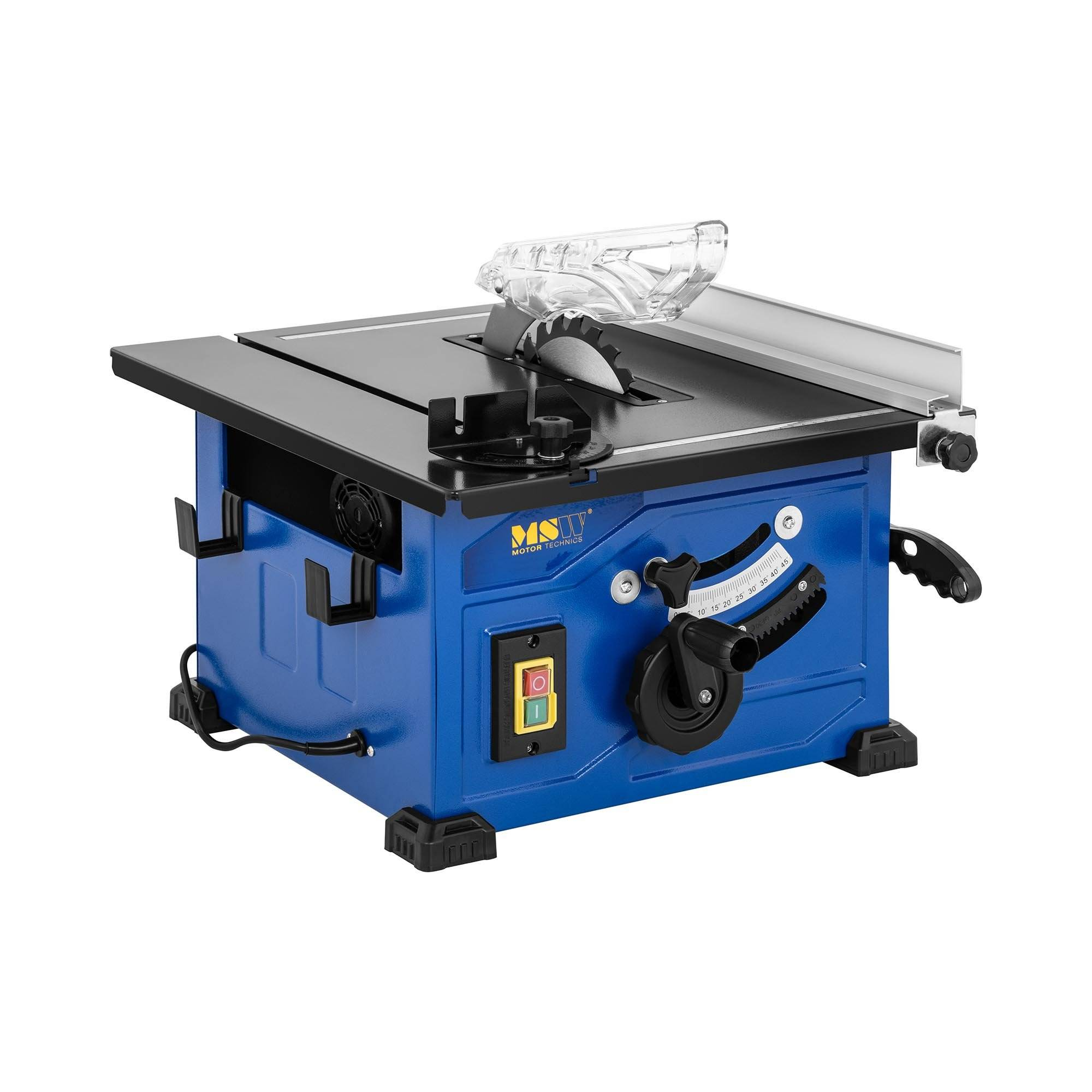 MSW Scie circulaire sur table - 900 W - 4 800 tr/min C-SAW210N