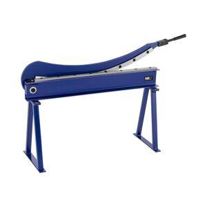MSW Cisaille à tôle à levier avec piétement - Largeur de coupe de 1 000 mm MSW-HS1000 - Publicité