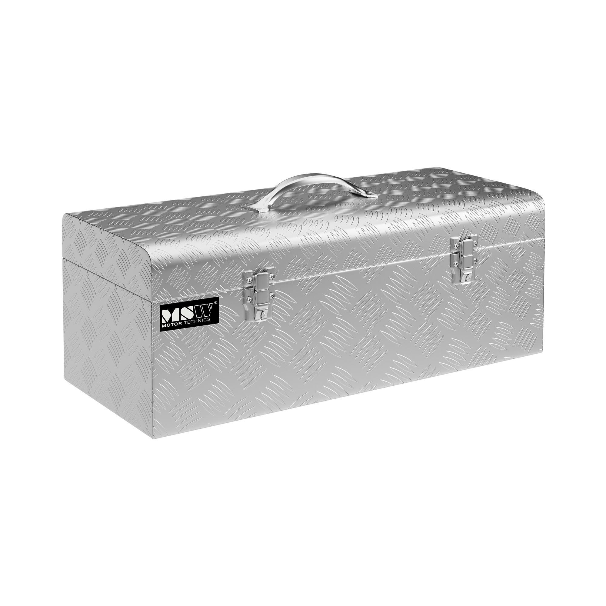 MSW Coffre de rangement aluminium - 57,5 x 24,5 x 22 cm - 31 l MSW-ATB-575