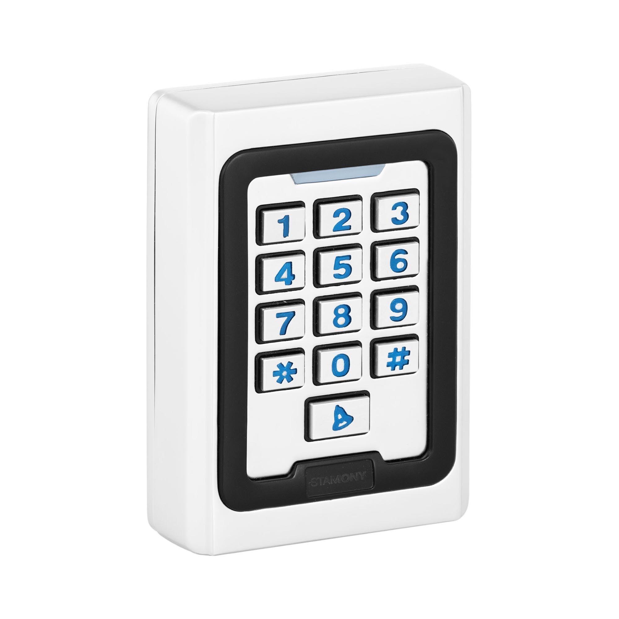 Stamony Clavier code ST-CS-100 - PIN/Carte RFID - Type EM - 2 000 espaces de sauvegarde - WG 26