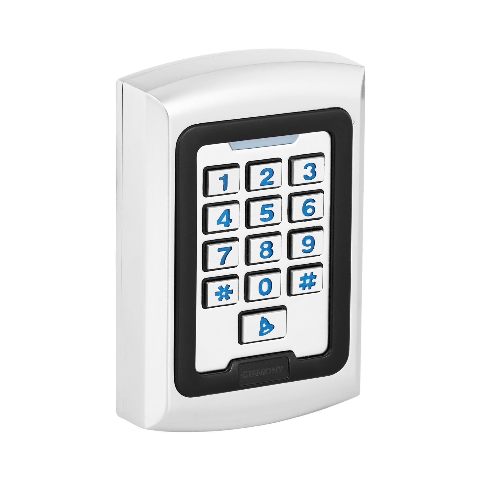 Stamony Clavier code ST-CS-600 - PIN/Carte RFID - Type EM - 2 000 espaces de sauvegarde - WG 26