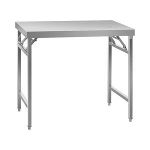 Royal Catering Table de travail pliante - 60 x 100 cm - Capacité de 200 kg RCAT-100/60KE - Publicité