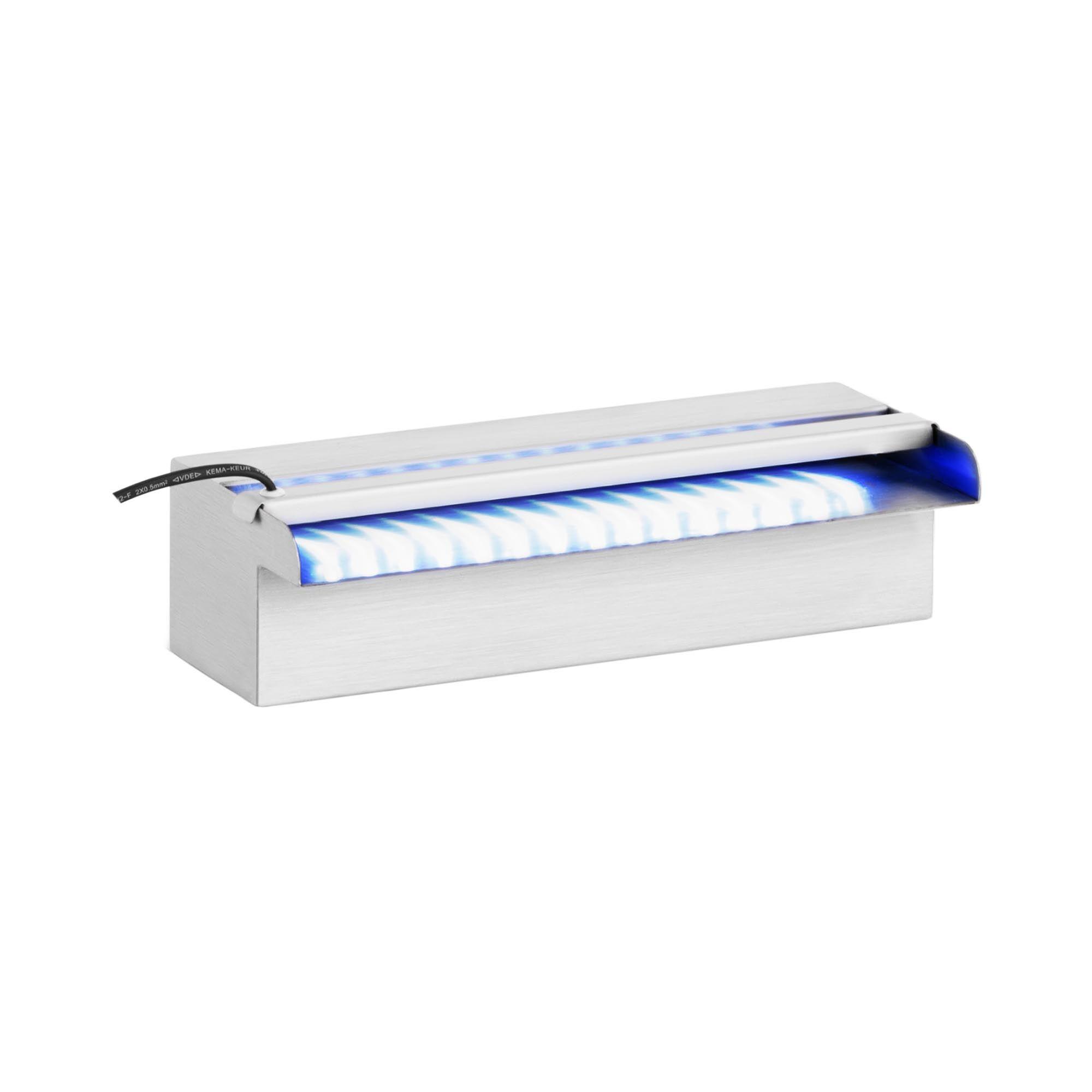 Uniprodo Fontaine piscine - 30 cm - Éclairage LED UNI_WATER_06