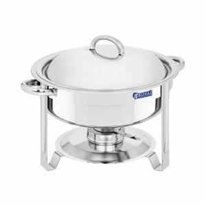 Royal Catering Chafing dish rond - 5,2 l RCCD-7-100 - Publicité