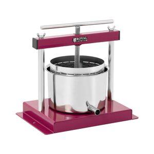 Royal Catering Pressoir inox - 3 l - Cuve et déversoirs inclus RCWP-3L - Publicité