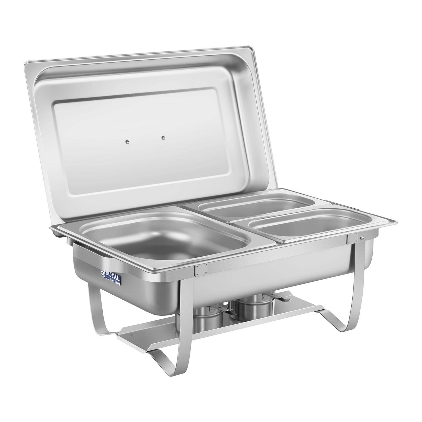 Royal Catering Chafing Dish - 53 cm - bacs GN inclus RCCD-1.3GN-1