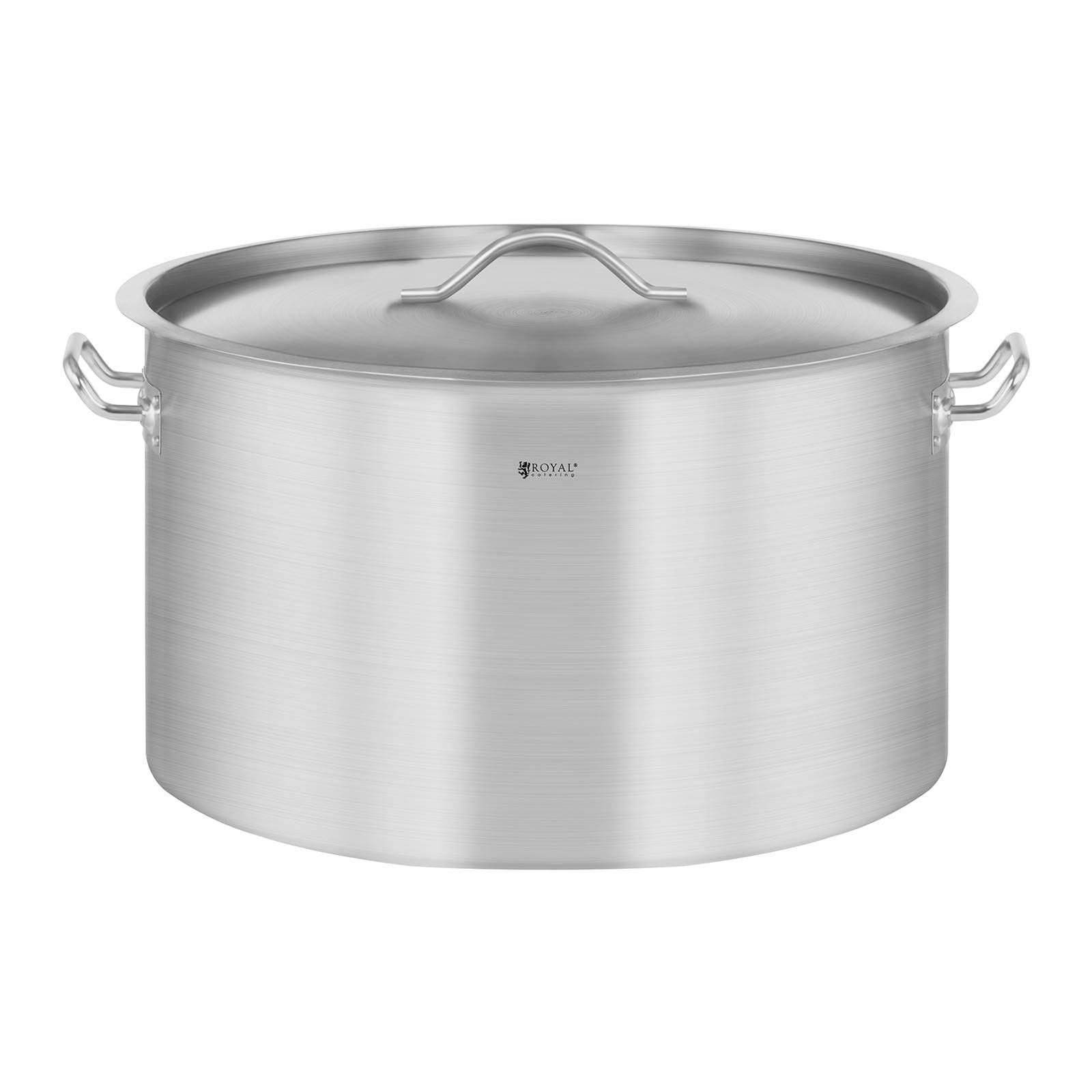 Royal Catering Casserole à induction - 32 L