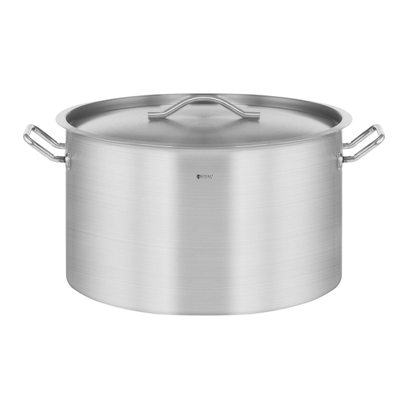 Royal Catering Casserole à induction - 58 L