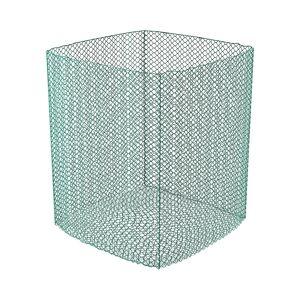 Wiesenfield Filet à foin pour balles rondes - 1,4 x 1,4 x 1,6 m - Mailles fines - Publicité