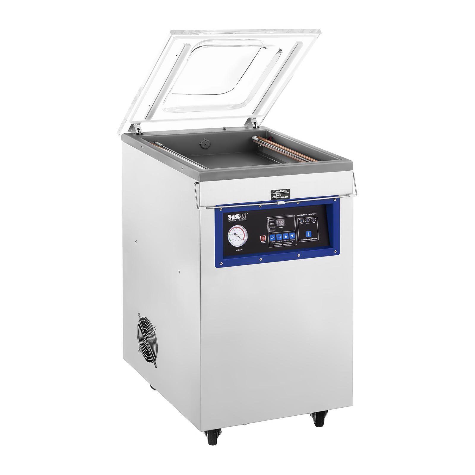 MSW Machine sous vide - sur roulettes - 900 watts MSW-VPM-900G