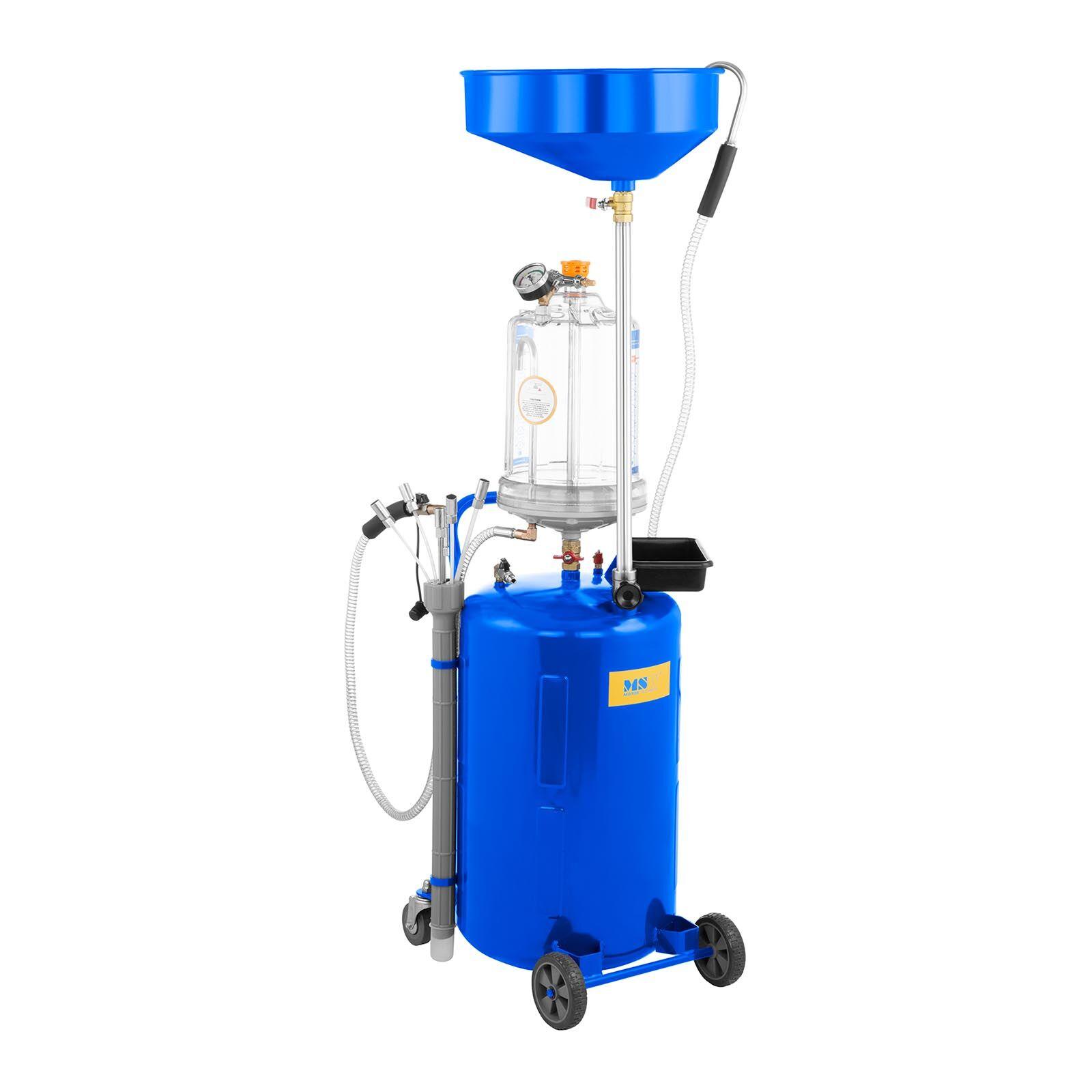 MSW Extracteur d'huile moteur - Réservoir de 75 L MSW-OBG80D