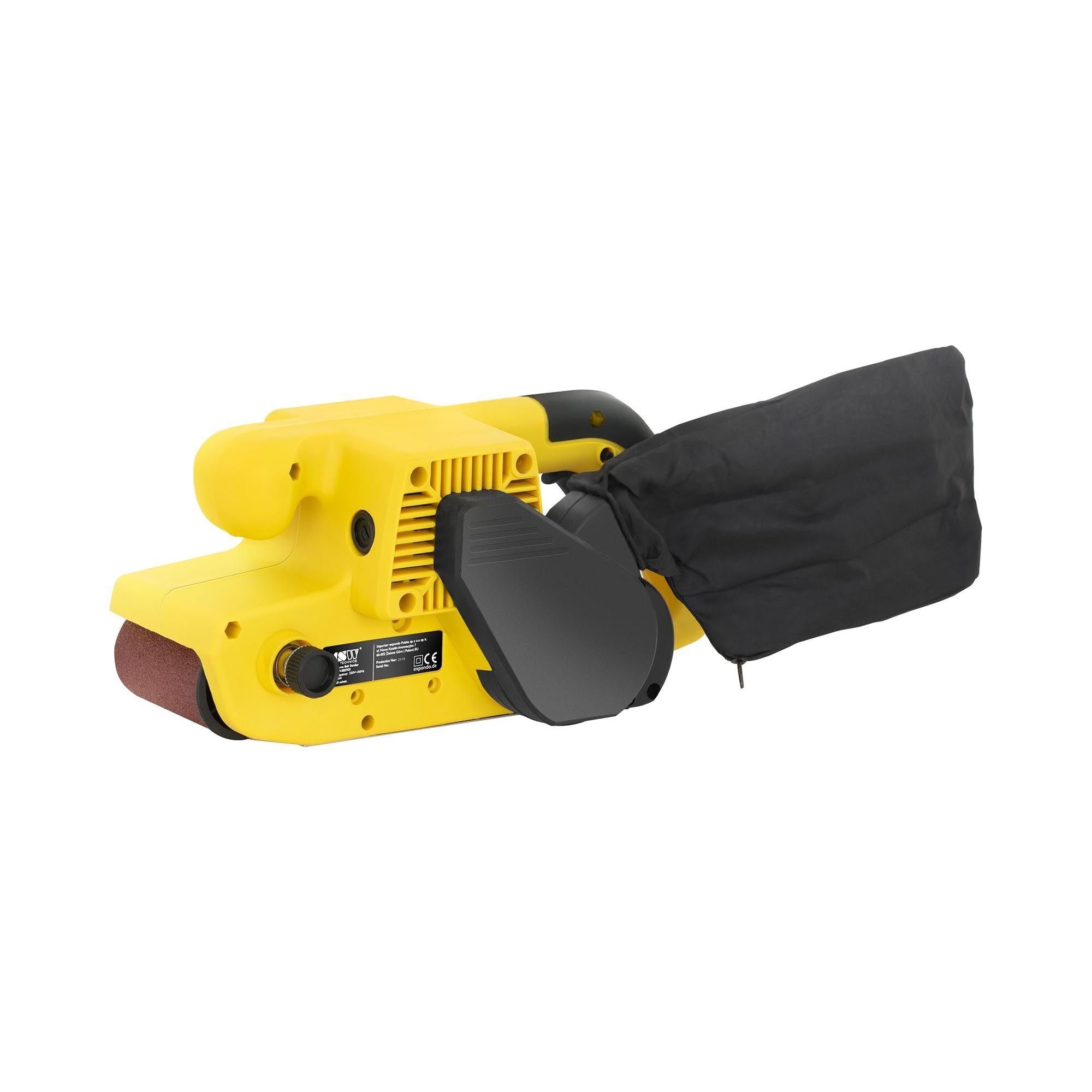 MSW Ponceuse à bande manuelle - 900 W MSW-EBS900
