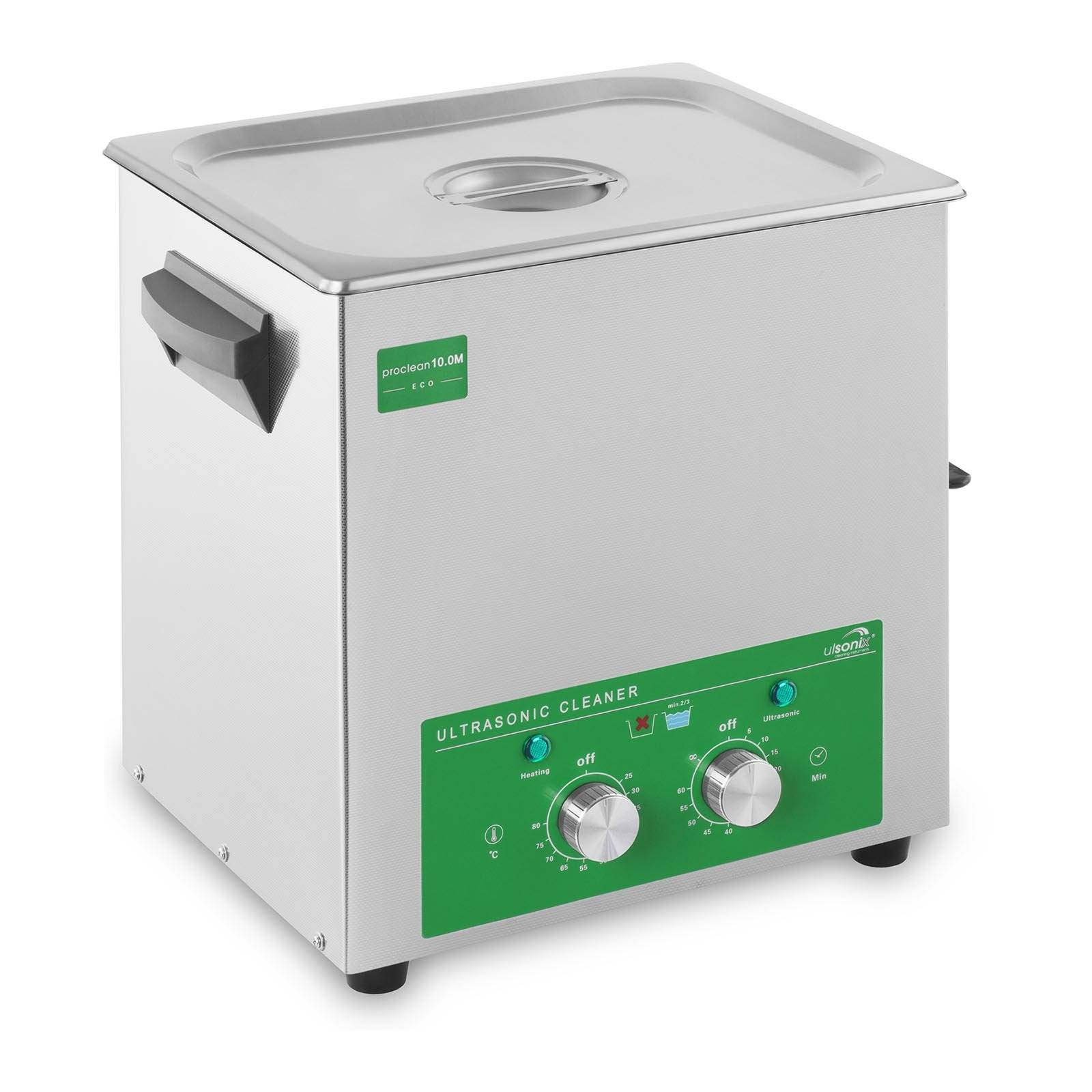 ulsonix Nettoyeur ultrason - 10 litres - 180 W - Eco PROCLEAN 10.0M ECO