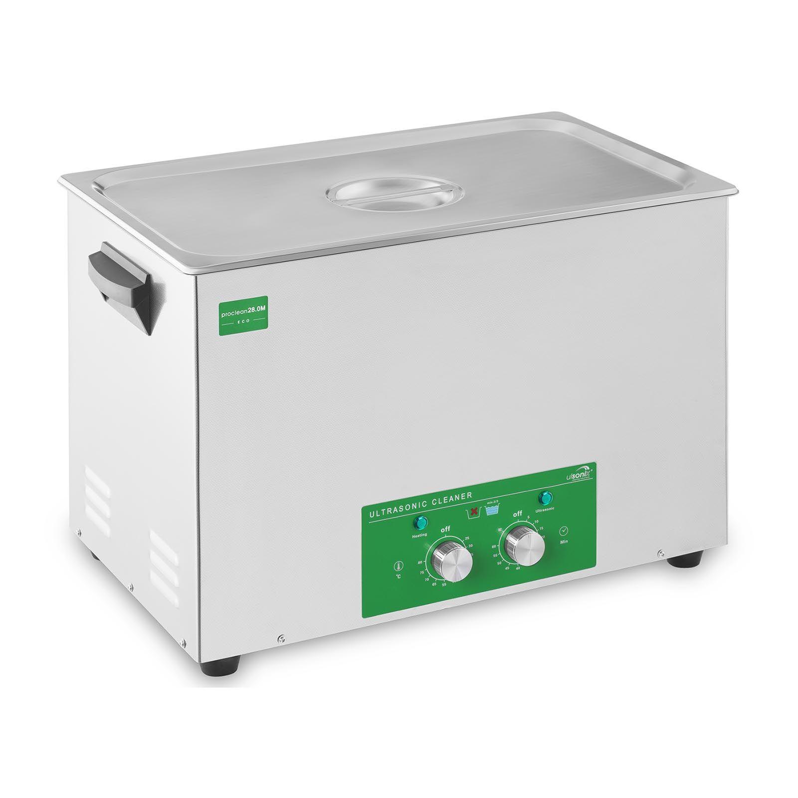 ulsonix Nettoyeur ultrason - 28 litres - 480 watts - Basic Eco PROCLEAN 28.0M ECO